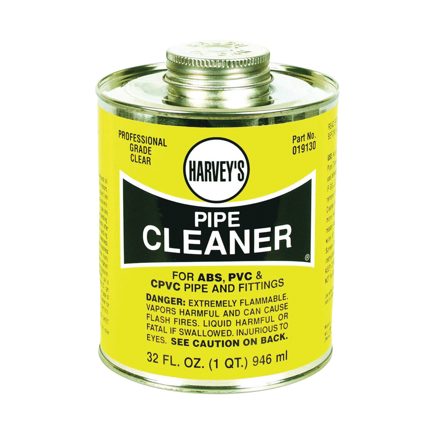Picture of HARVEY 019130-12 Pipe Cleaner, Liquid, Clear, 32 oz Package, Can