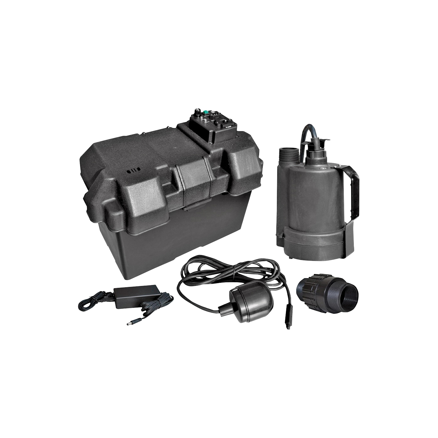 Picture of SUPERIOR PUMP 92900 Battery Back Up Kit, Thermoplastic