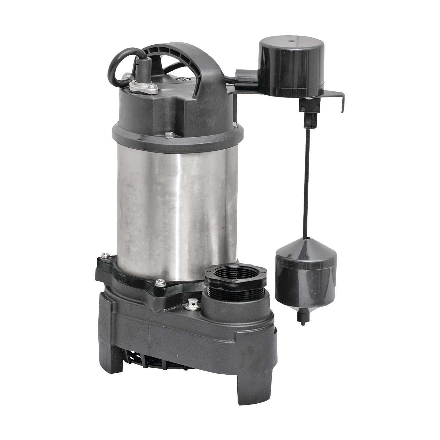 Picture of SUPERIOR PUMP 92751 Sump Pump, 7.5 A, 120 V, 0.75 hp, 2 in Outlet, 80 gpm, Iron/Stainless Steel