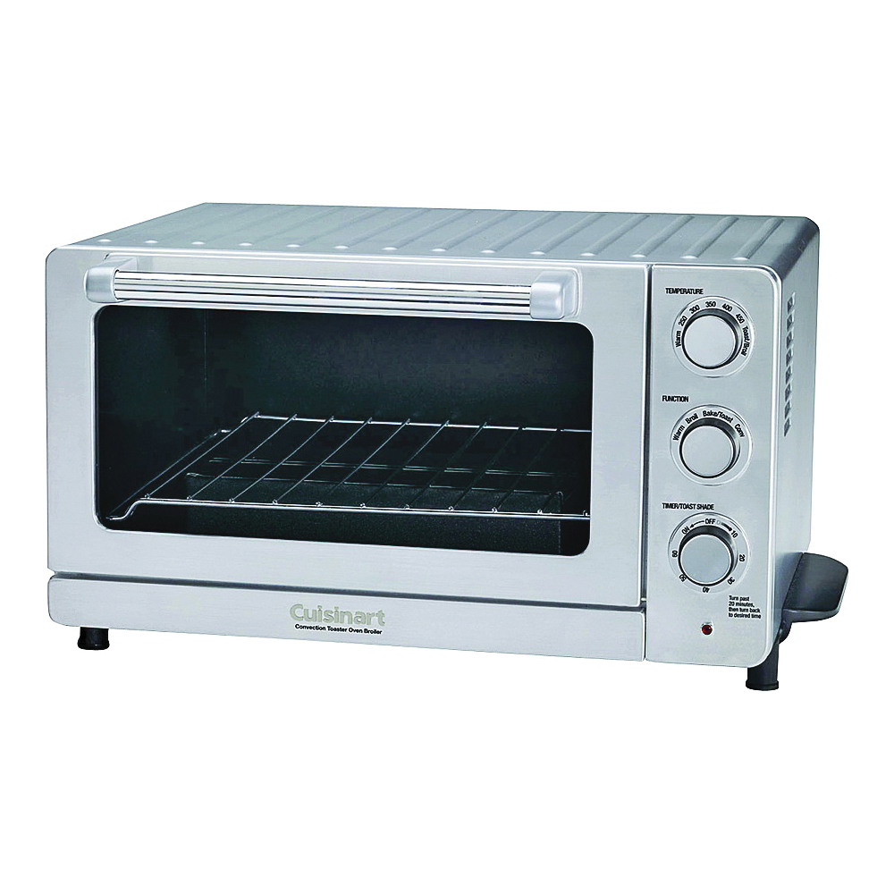 Picture of Cuisinart TOB-60N1 Toaster Oven Broiler with Convection, 1800 W, Stainless Steel