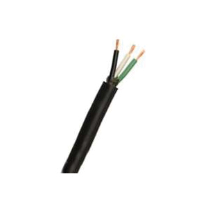 Picture of CCI 55040103 Electrical Cable, 14 AWG Wire, 4-Conductor, Copper Conductor, TPE Insulation, TPE Sheath, 300 V