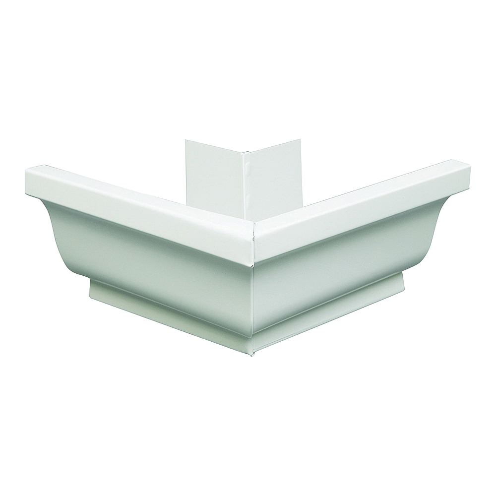 Picture of Amerimax 27202 Gutter Miter, Aluminum, White