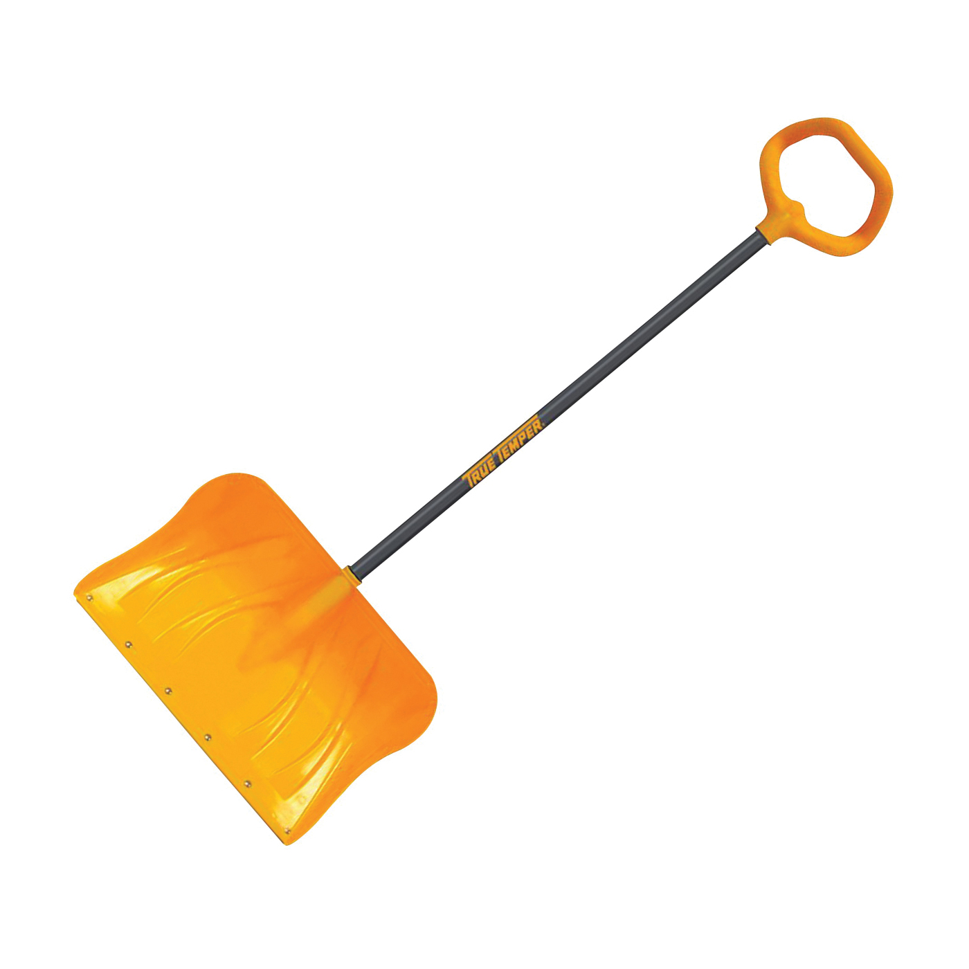 Picture of TRUE TEMPER 1649800 Snow Shovel, 18-1/2 in W Blade, 13-1/2 in L Blade, Combo Blade, Polyethylene Blade, 51 in OAL