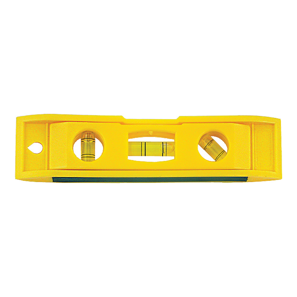 Picture of Vulcan 50776D Torpedo Level, 6 in L, 3 -Vial, Magnetic, Plastic