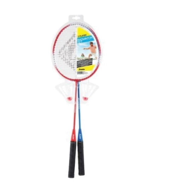 Picture of Franklin Sports 52623 Badminton Racquet Set, Tempered Steel Frame