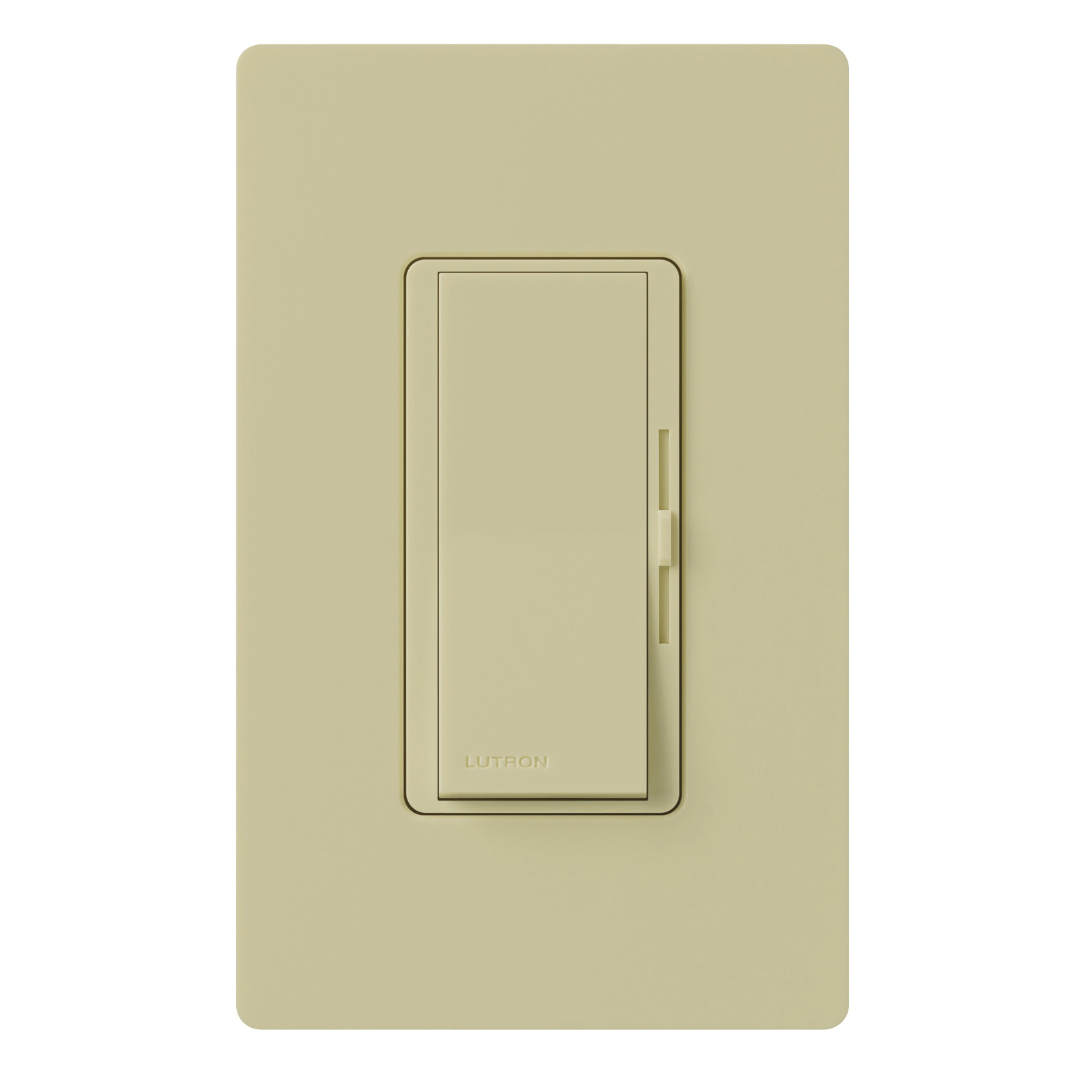 Picture of Lutron Diva DVWCL-153PH-IV C.L Dimmer with Wallplate, 1.25 A, 120 V, 150 W, CFL, Halogen, Incandescent, LED Lamp