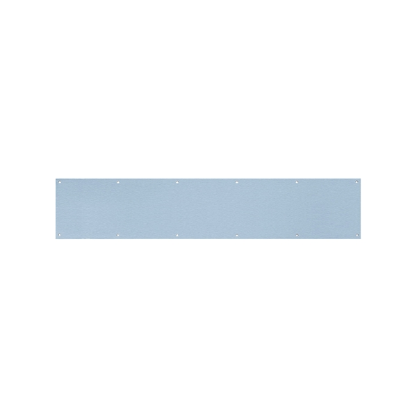 Picture of Tell Manufacturing DT100055 Kick Plate, 6 in L, 30 in W, Stainless Steel