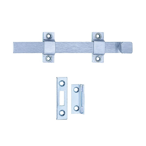 Picture of Tell Manufacturing DT100017 Strap Bolt, Steel, Satin Chrome