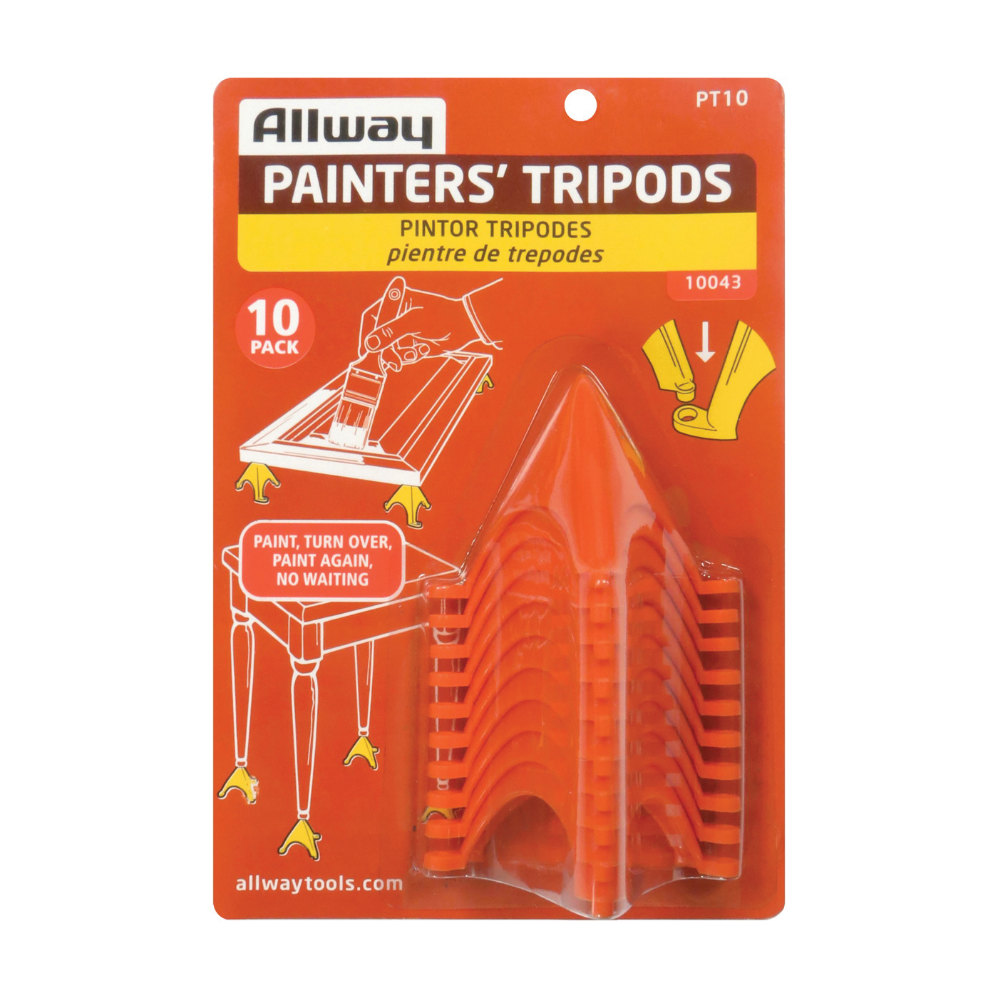 Picture of ALLWAY TOOLS PT10 Painter's Tripod, Celcon Polyoxymethylene
