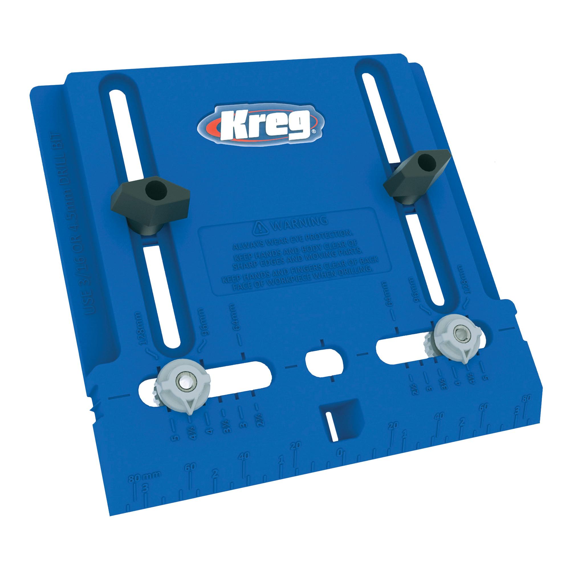 Picture of Kreg KHI-PULL Cabinet Hardware Jig, Polymer