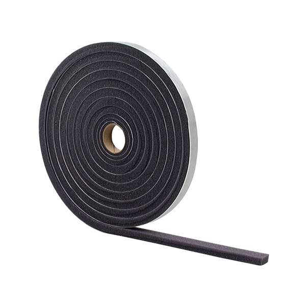 Picture of M-D 02055 Foam Tape, 3/8 in W, 17 ft L, 3/16 in Thick, Gray