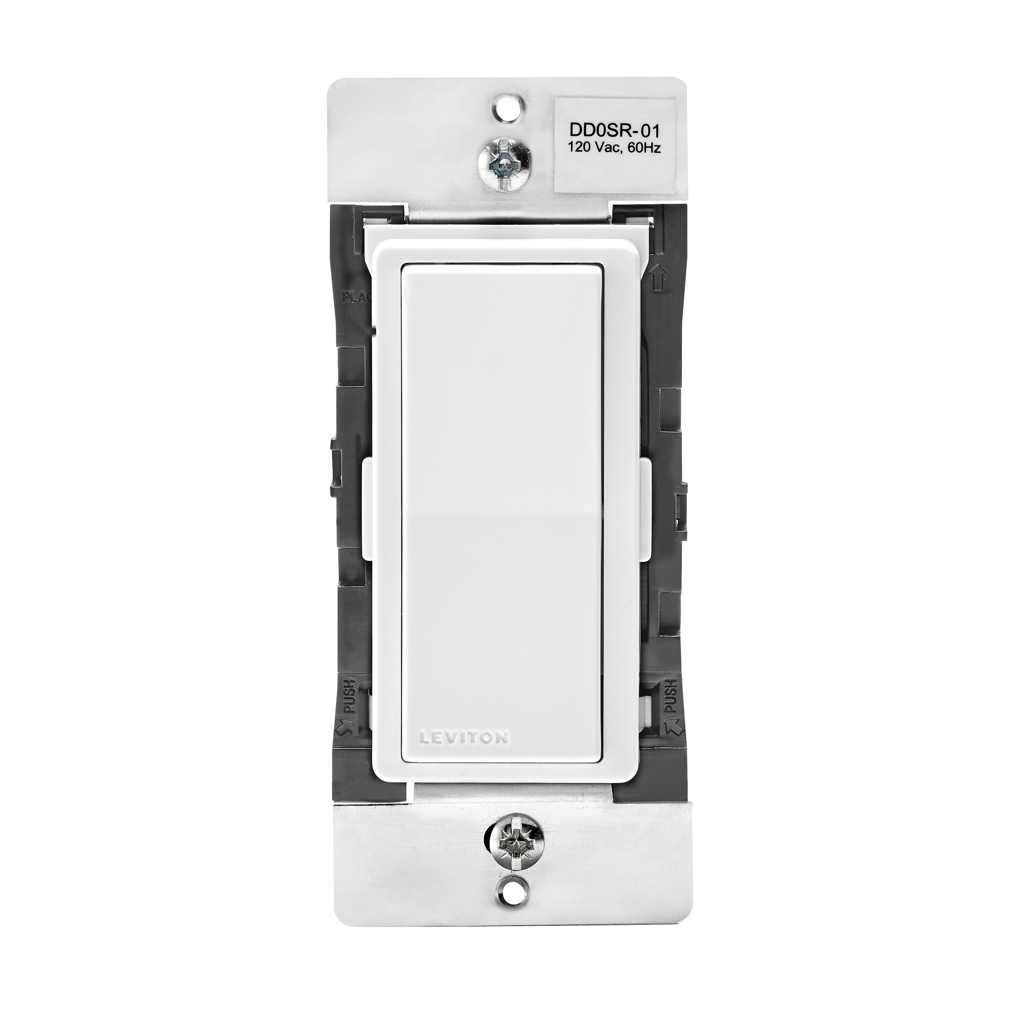 Picture of Leviton R01-DD0SR-01M Switch Remote Dimmer, 3-Way, 120/277 VAC, 60 Hz, Bluetooth, Hardwired