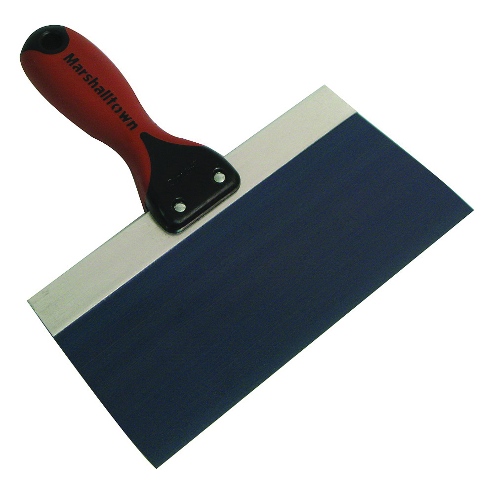Picture of Marshalltown 4508D Taping Knife, 8 in W Blade, 3 in L Blade, Steel Blade, Ergonomic Handle