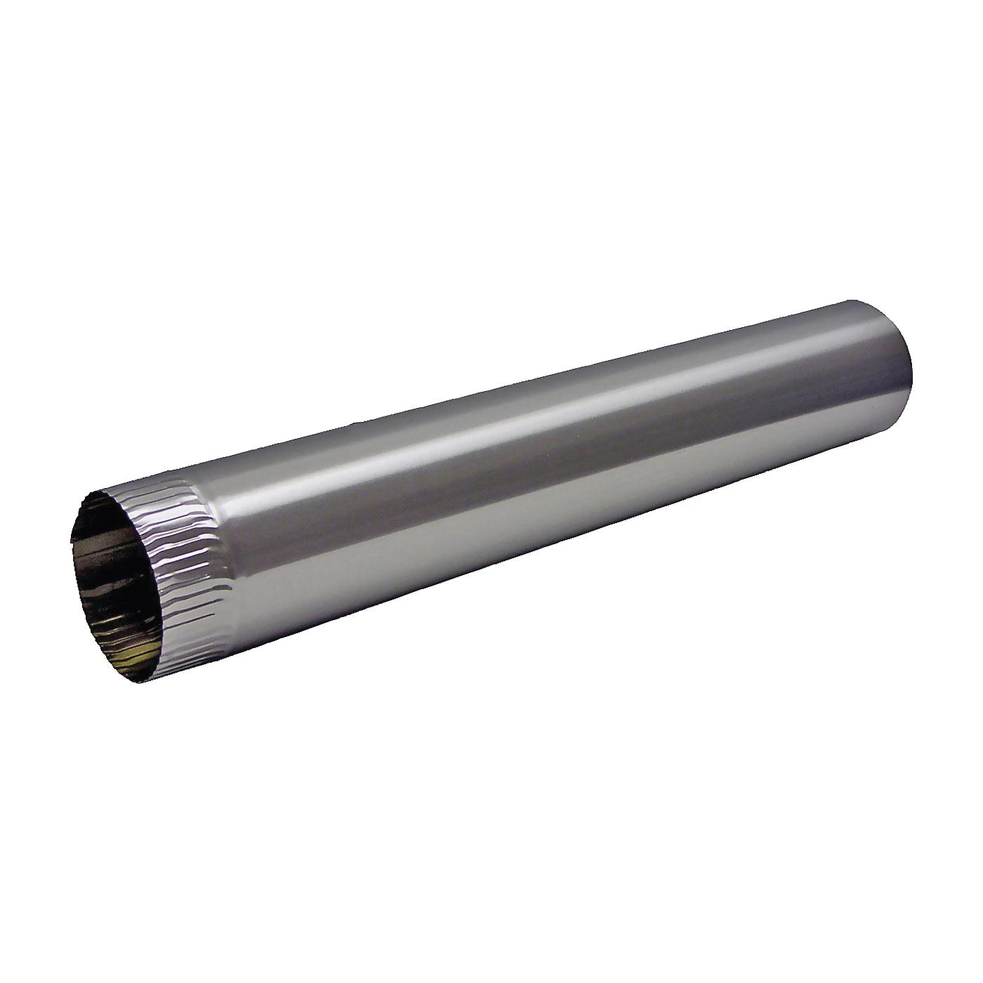 Picture of Lambro 427 Snap Lock Pipe, 4 in Dia, 60 in L, Aluminum