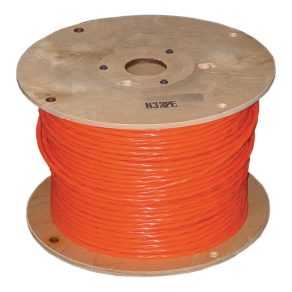 Picture of Southwire 10/3NM-WGX1000FT Sheathed Cable, 10 AWG Wire, 3-Conductor, Copper Conductor, PVC Insulation, 1000 ft L