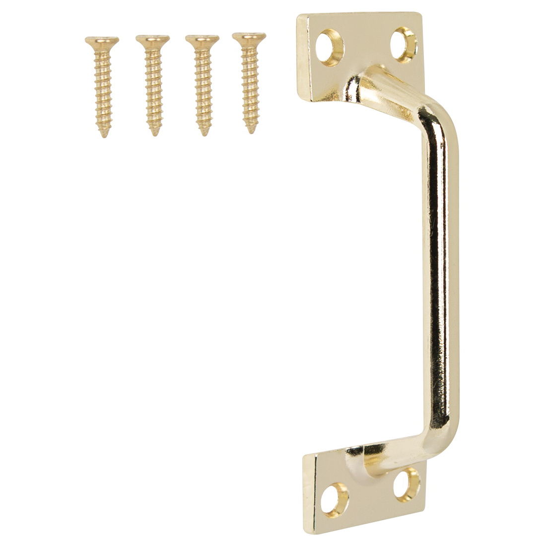 Picture of ProSource 20902BBB-PS Sash Lift, 3-7/8 in L Handle, Die-Cast Zinc, Polished Brass
