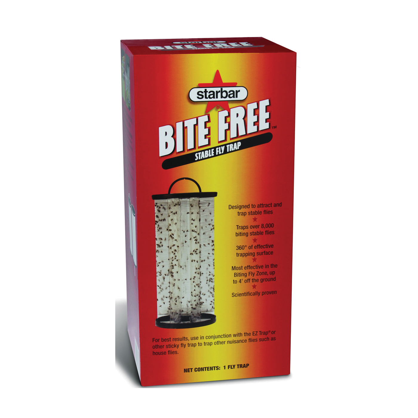 Picture of Starbar Bite Free 3005363 Fly Trap, 6 Package, Case
