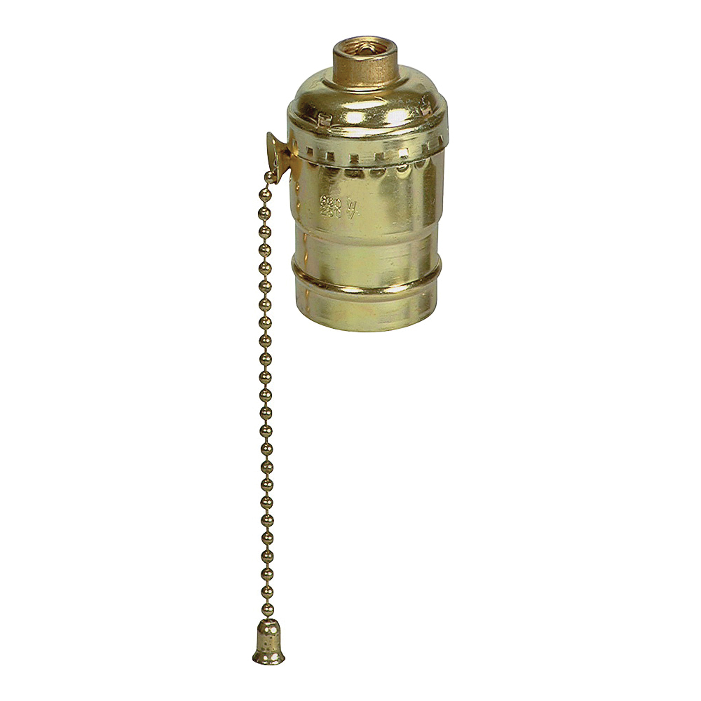 Picture of Eaton Wiring Devices BP980ABD Lamp Holder, 250 V, 660 W, Brass