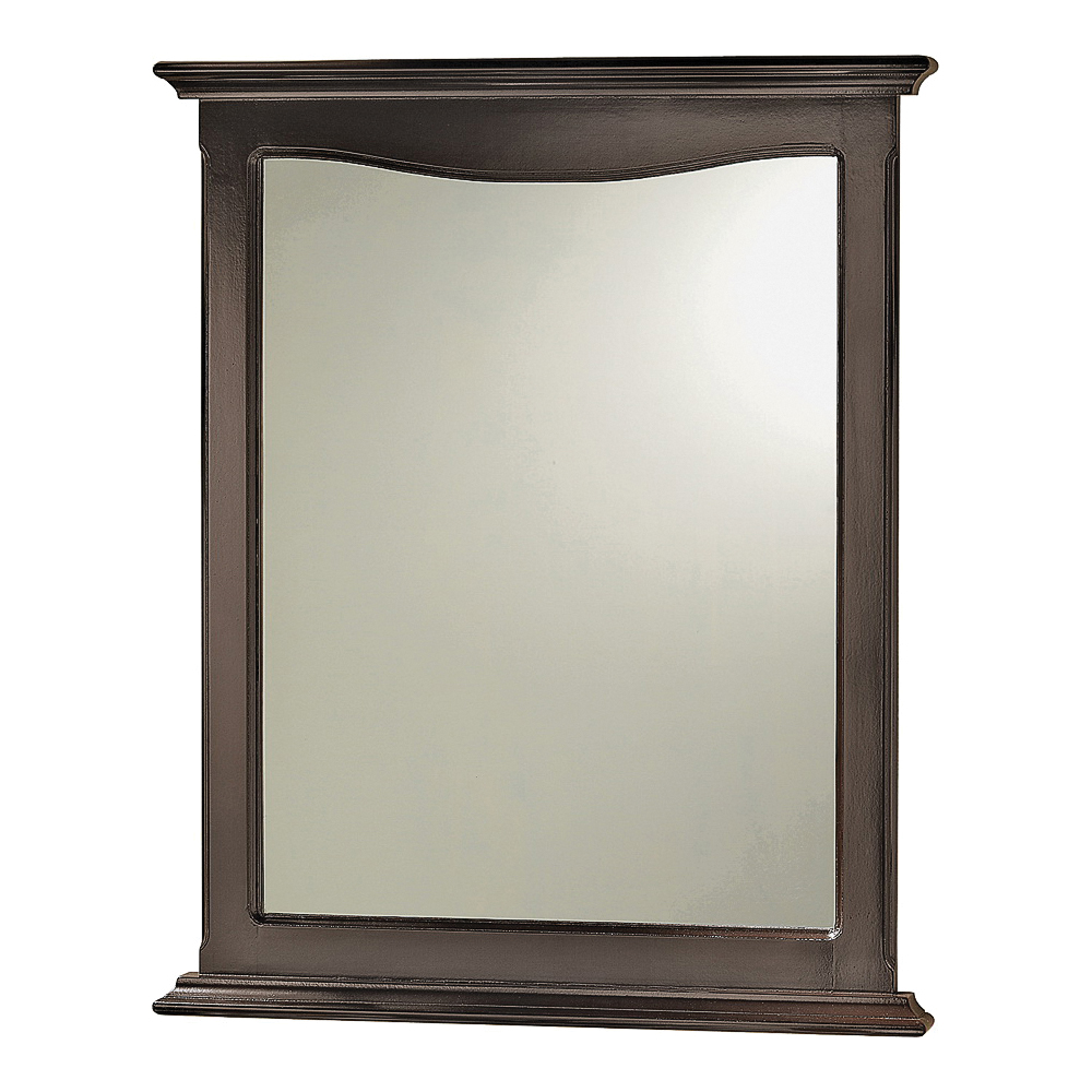 Picture of Foremost Palermo PAEM2531 Mirror, Rectangular, 25-3/8 in W, 31-1/8 in H, Wood Frame, Wall Mounting