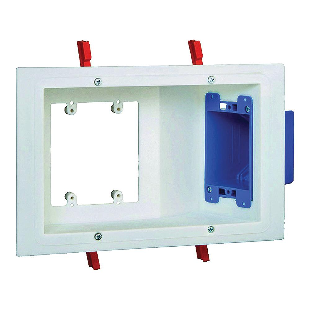 Picture of Carlon SC300PRR Electrical Box, 3-Gang, Non-Metallic, White