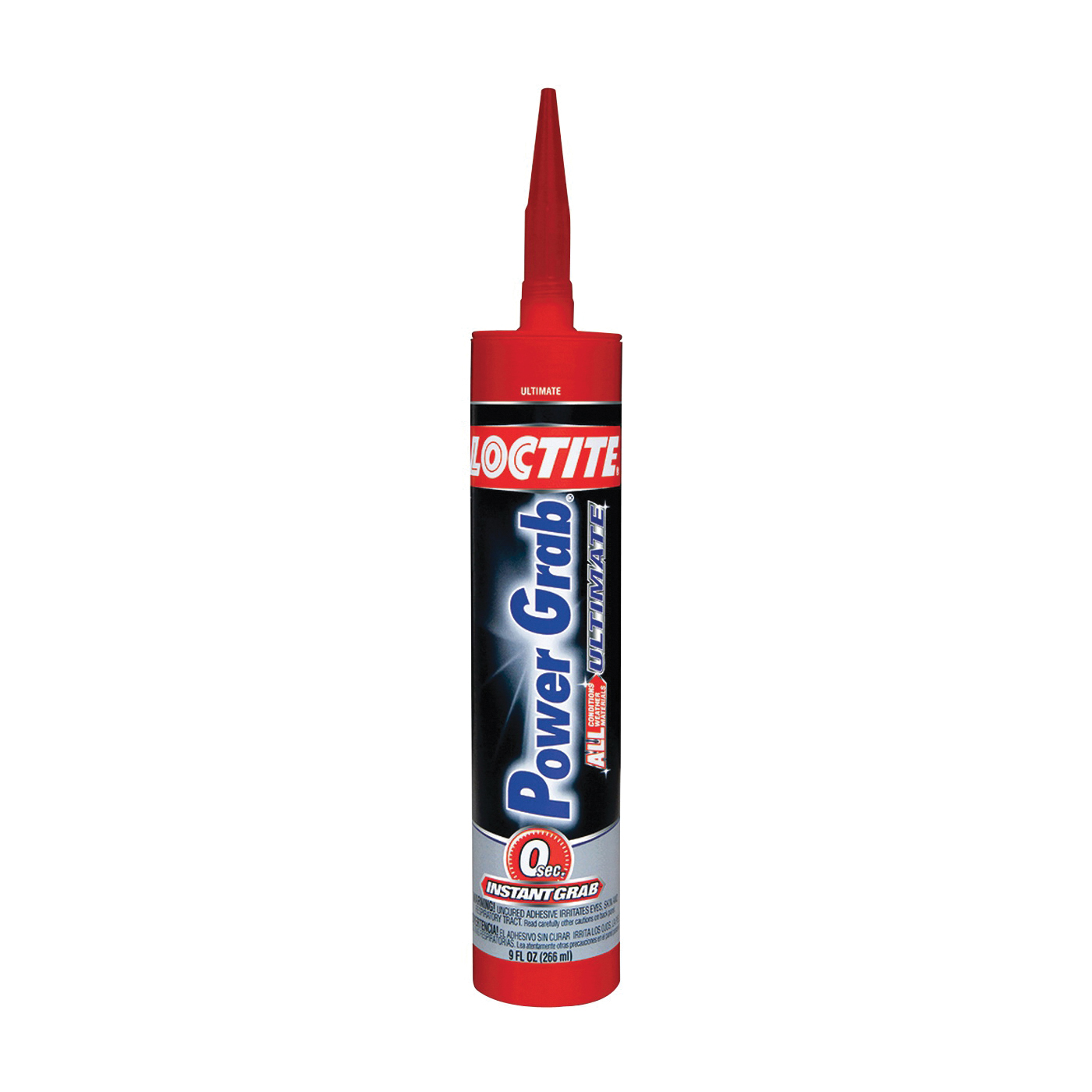 Picture of Loctite 1989550 Construction Adhesive, White, 9 oz Package, Cartridge