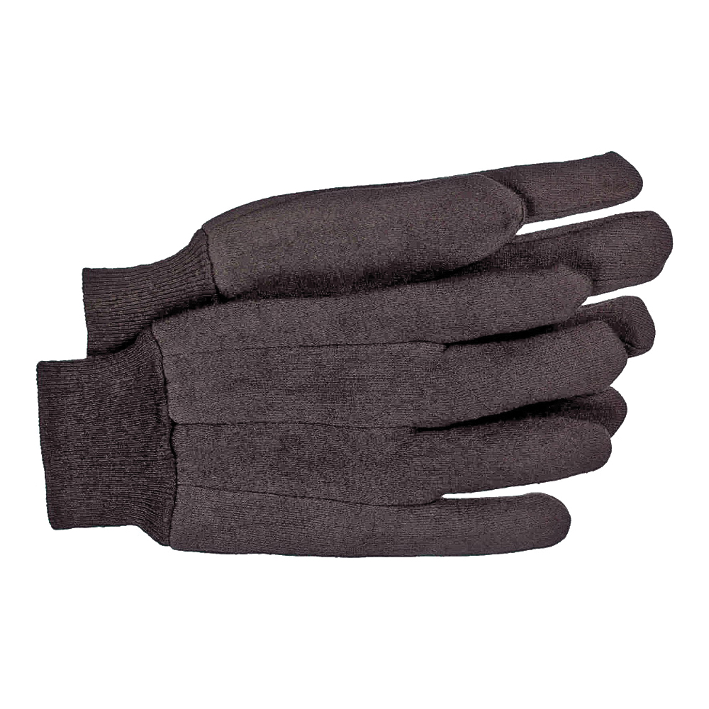 Picture of BOSS 403L Classic Heavy Weight Protective Gloves, Men's, L, Straight Thumb, Knit Wrist Cuff, Cotton/Polyester