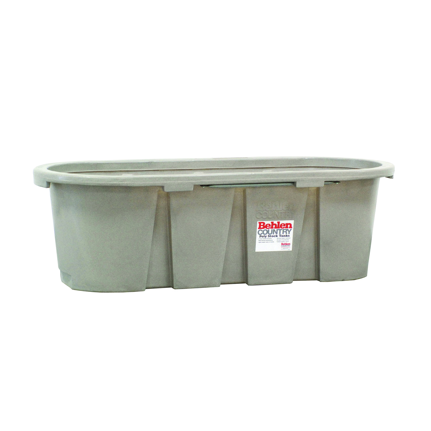Picture of Behlen Country 52112027GT Farm Stock Tank, Round, 150 gal Capacity, Polyurethane, Granite Tan