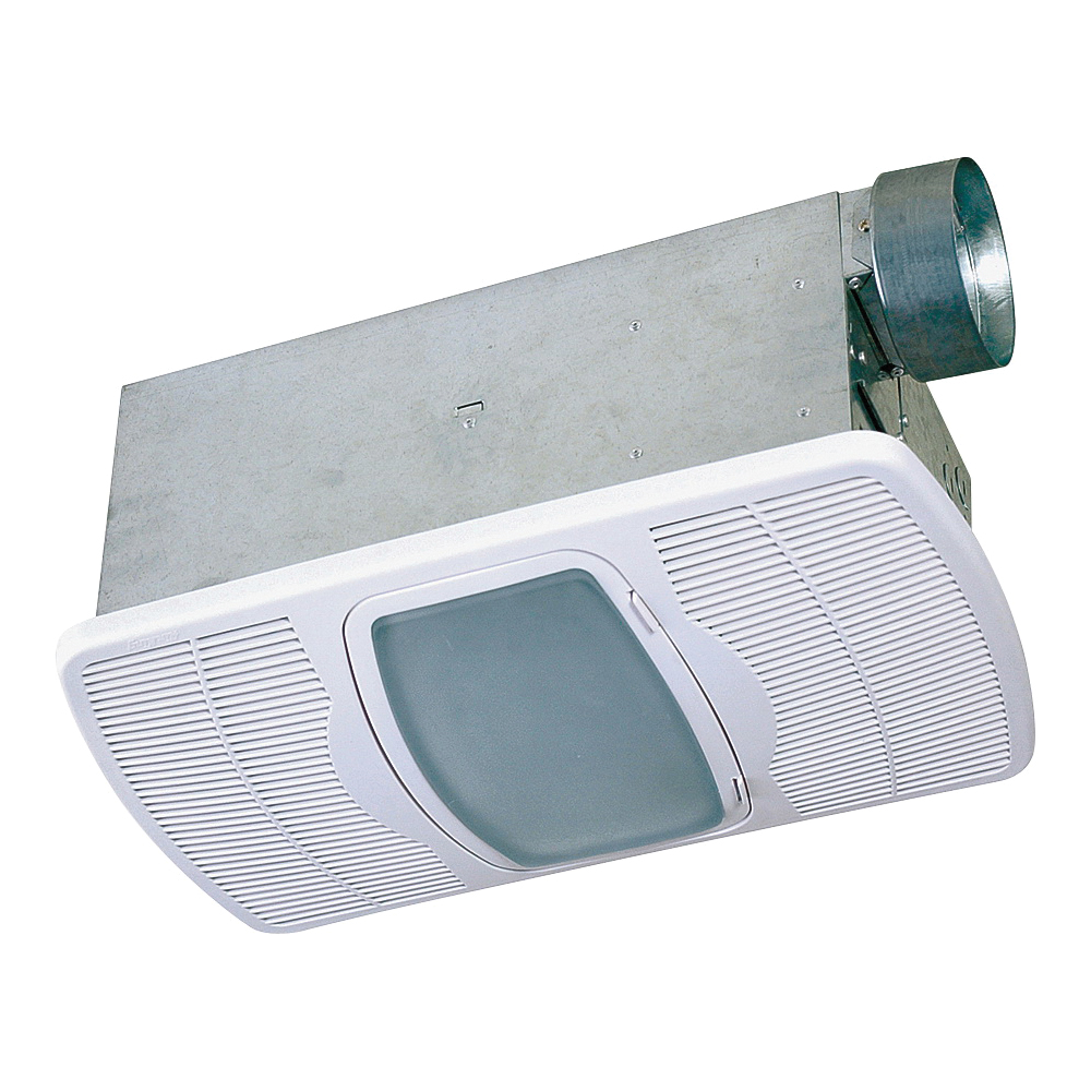 Picture of Air King AK55L Exhaust Fan, 0.3 A, 120 V, 70 cfm Air, 5 Sone sones, 4 in Duct, White