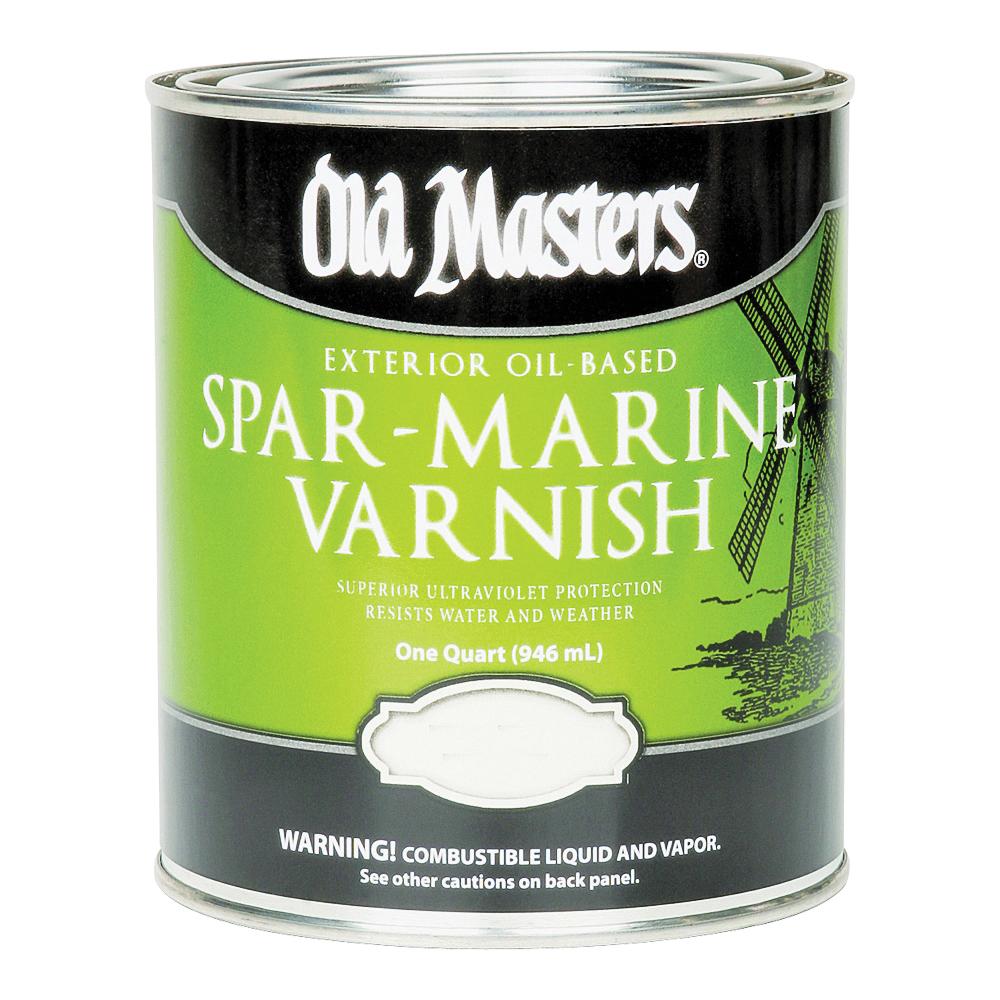Picture of Old Masters 92404 Spar Marine Varnish, Gloss, Liquid, 1 qt, Pail