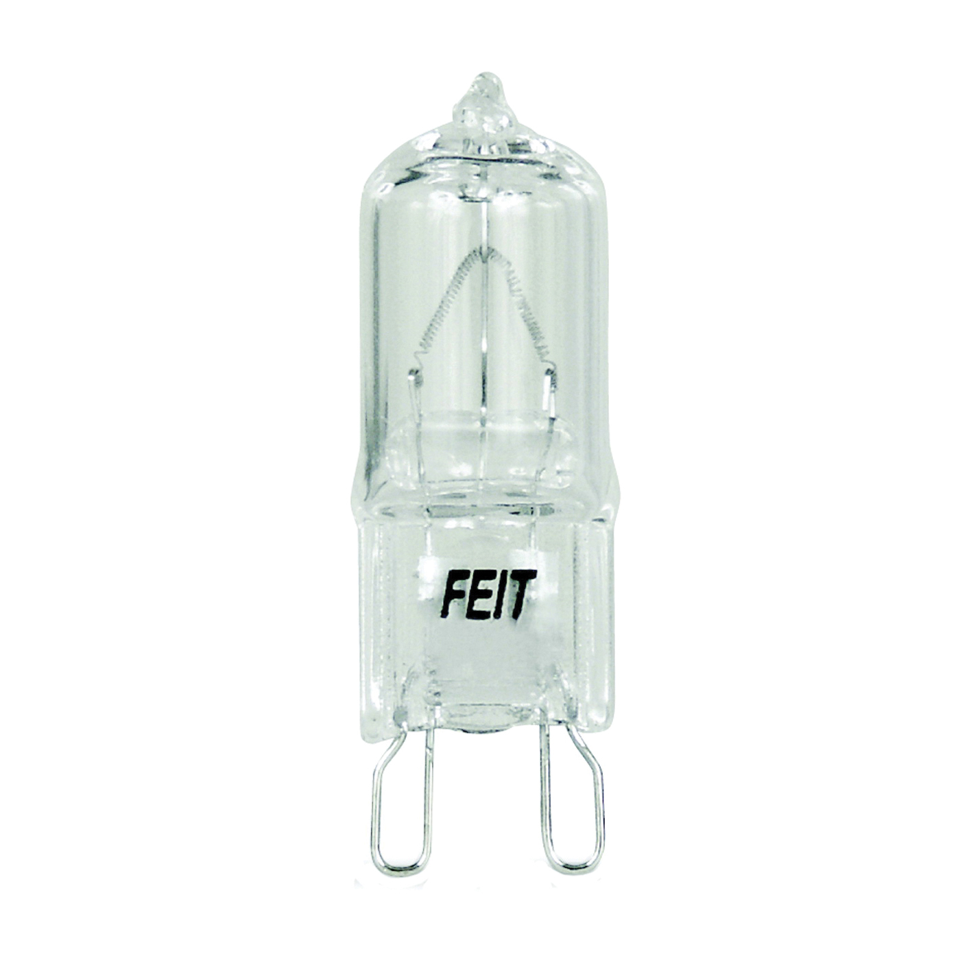 Picture of Feit Electric BPQ60/G9 Halogen Lamp, 60 W, G9 Lamp Base, JCD T4 Lamp, 3000 K Color Temp, 2000 hr Average Life