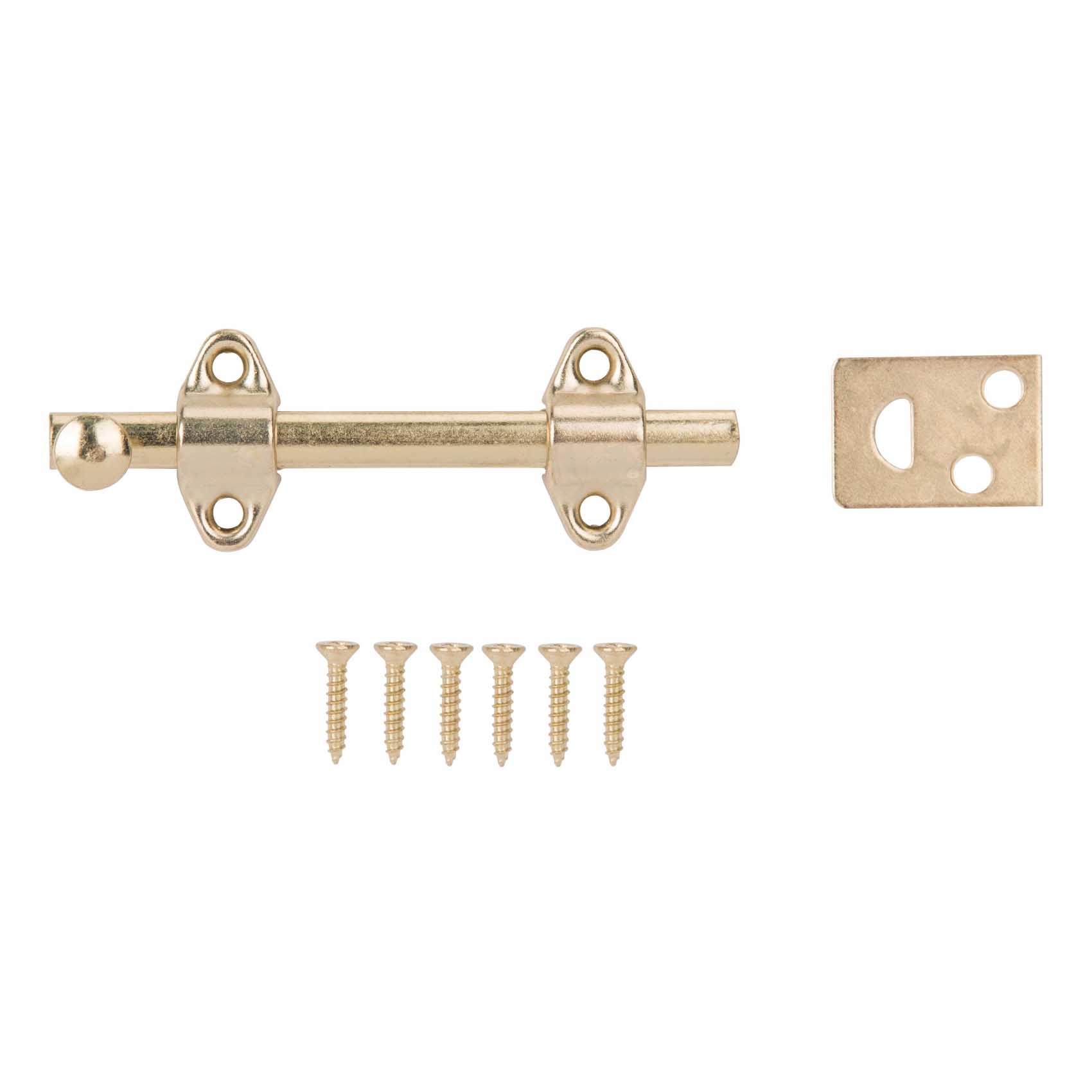 Picture of ProSource 23260BBB-PS Surface Bolt, Steel, Brass