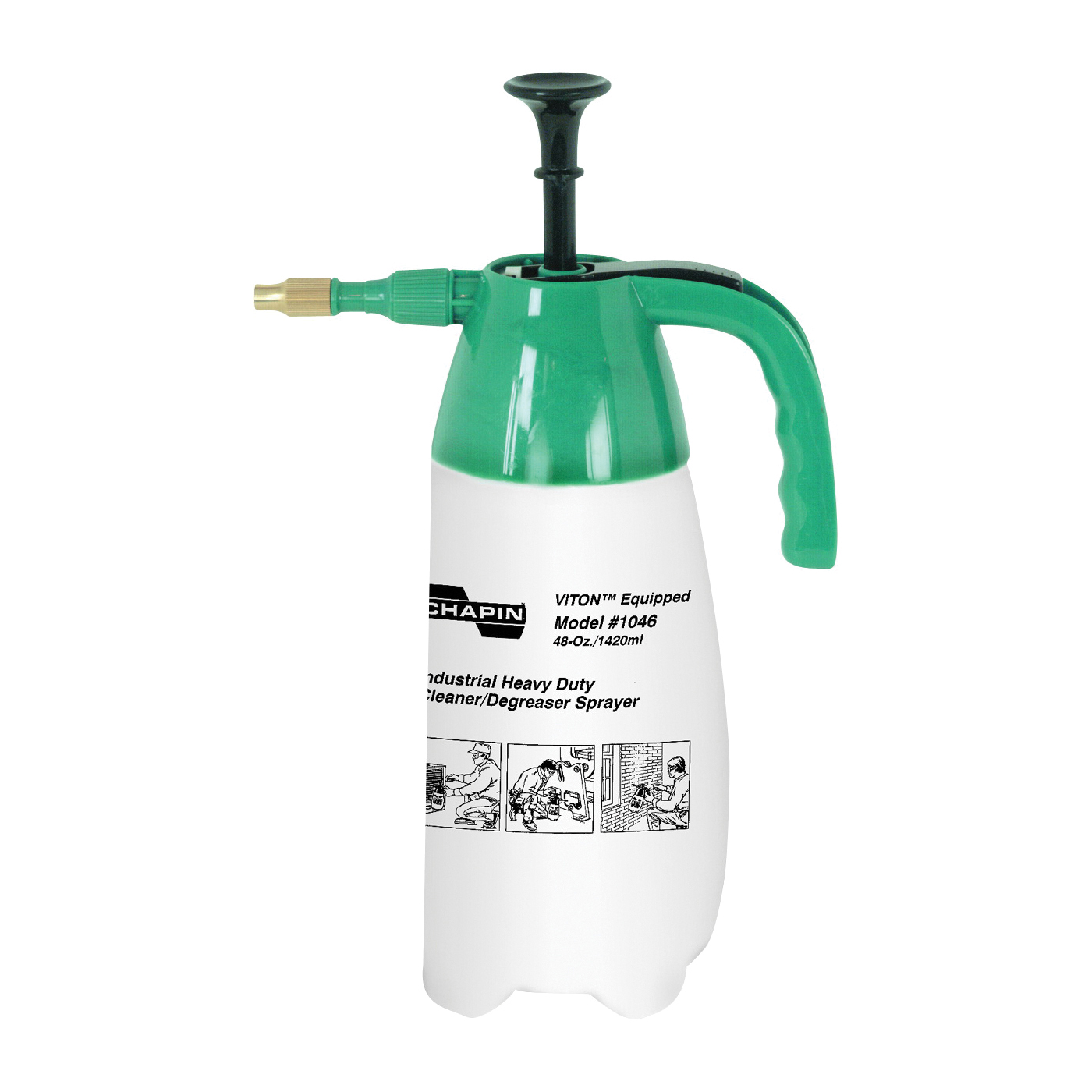 Picture of CHAPIN 1046 Hand Sprayer, Cone Nozzle, Polyethylene