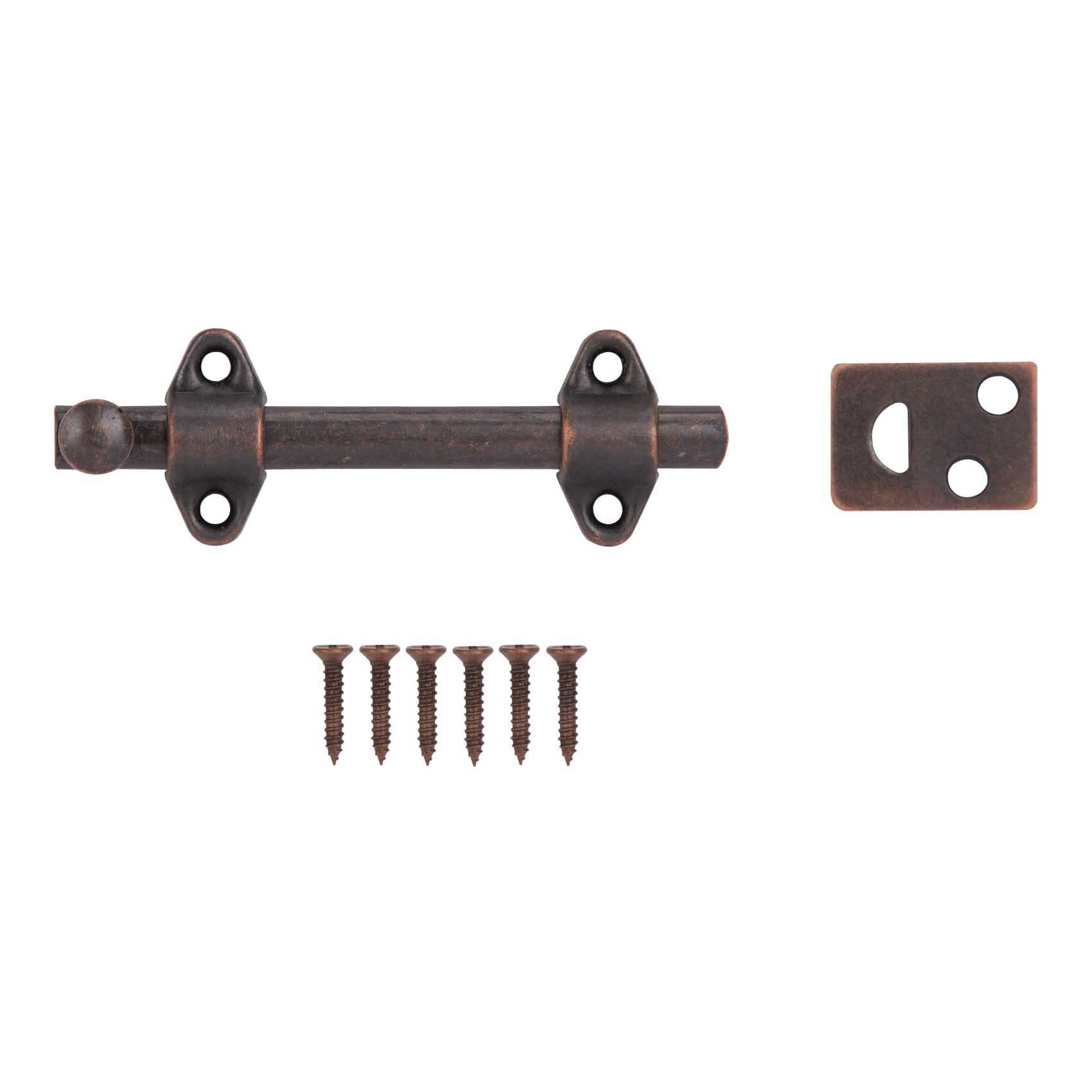 Picture of ProSource 23260VB-PS Surface Bolt, Steel, Venetian Bronze