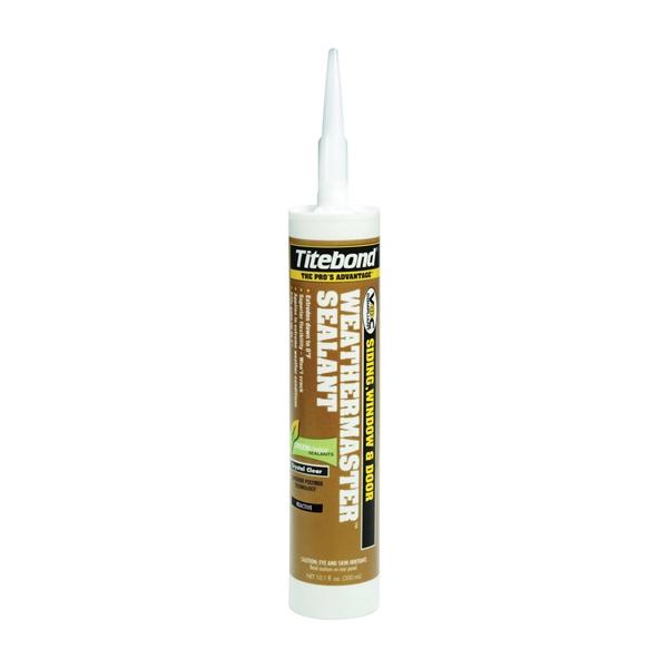 Picture of Titebond WeatherMaster 44001 Sealant, White, -75 to 300 deg F, 10.1 oz Package, Cartridge