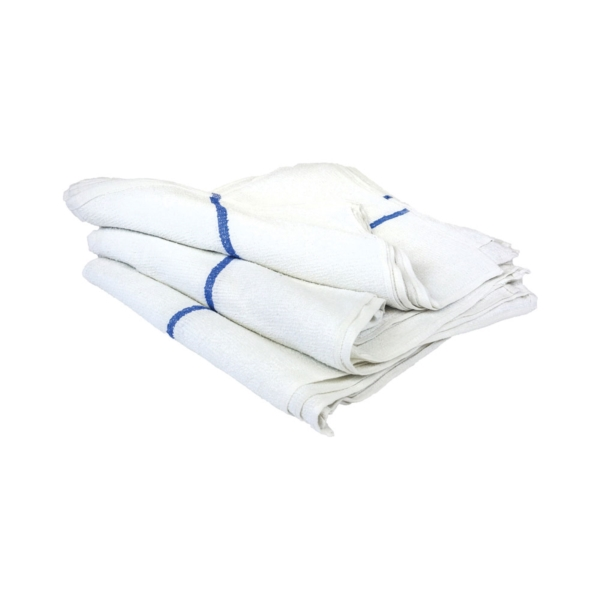 Picture of ALL RAGS N739 Barmop Towel, 19 in L, 16 in W, Cotton, 30