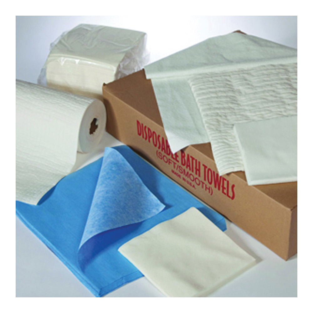 Picture of ALL RAGS 3336 Disposable Wipes, 12-1/4 in L, 9-1/4 in W, Fabric