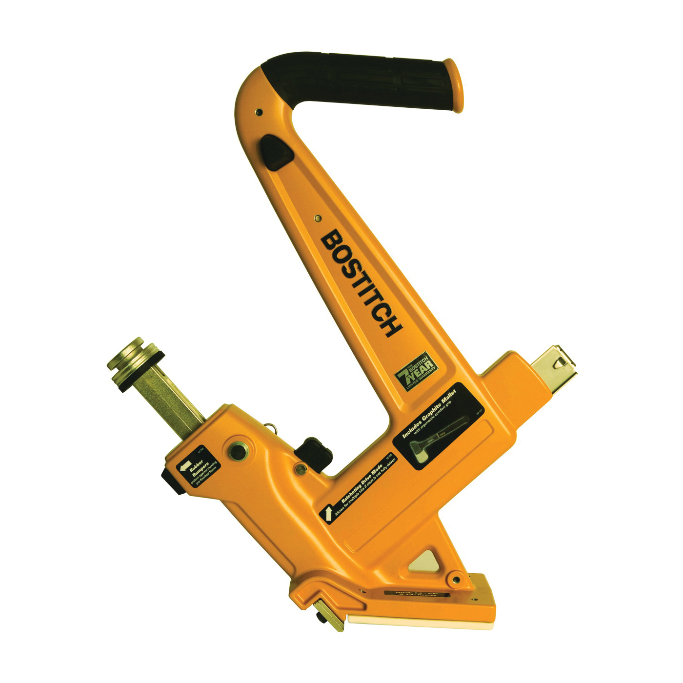Picture of Bostitch MFN-201 Floor Cleat Nailer, 120 Magazine, 1-1/2 to 2 in L Fastener