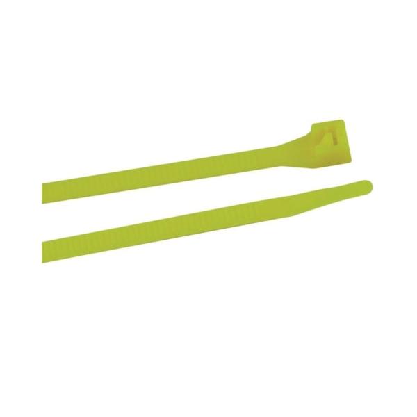 Picture of GB 45-308FG Cable Tie, 6/6 Nylon, Fluorescent Green
