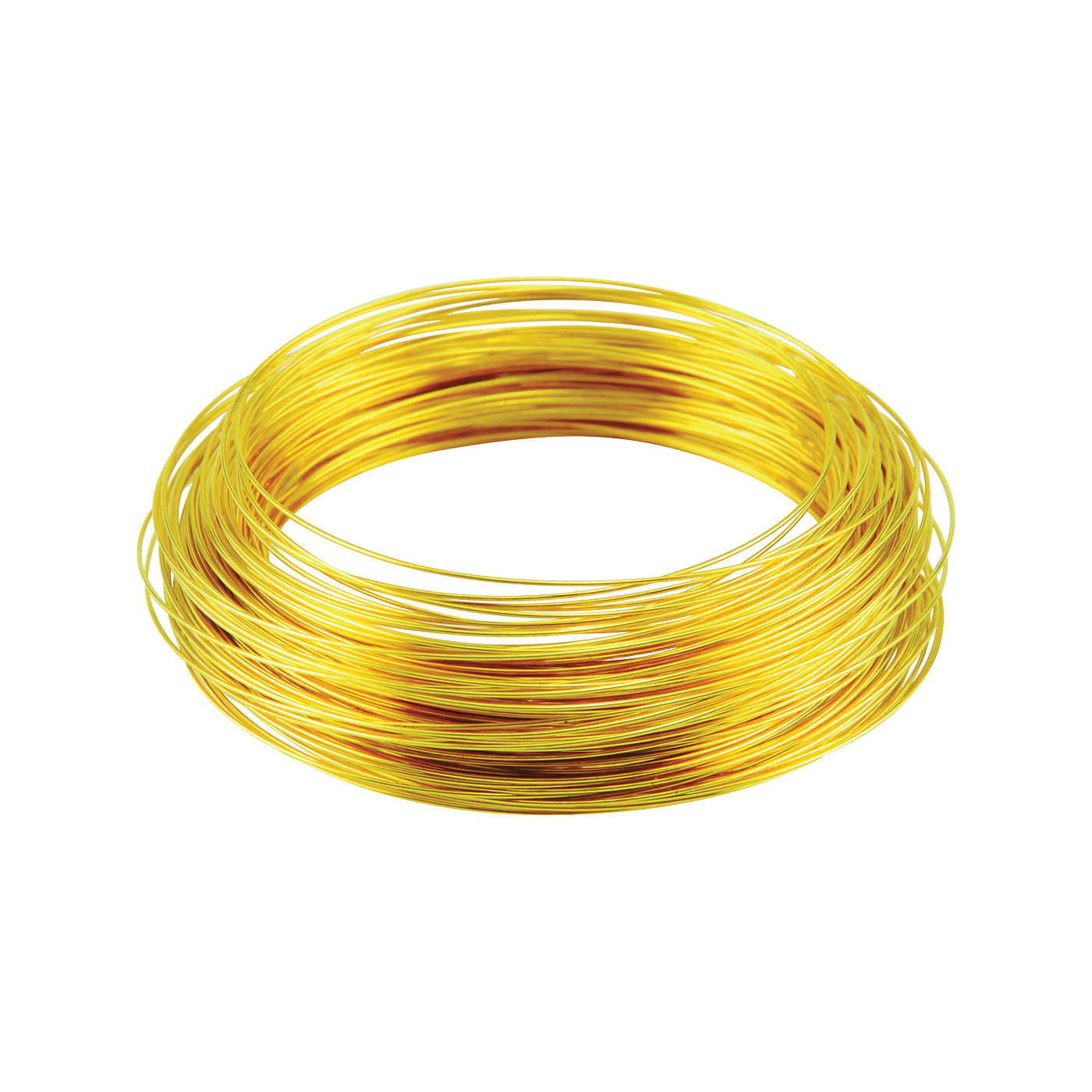 Picture of HILLMAN 50154 Utility Wire, 75 ft L, 28 Gauge, Brass