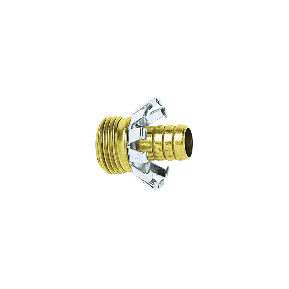 Picture of Gilmour 858014-1001 Hose Coupling, 5/8 in, Male, Brass