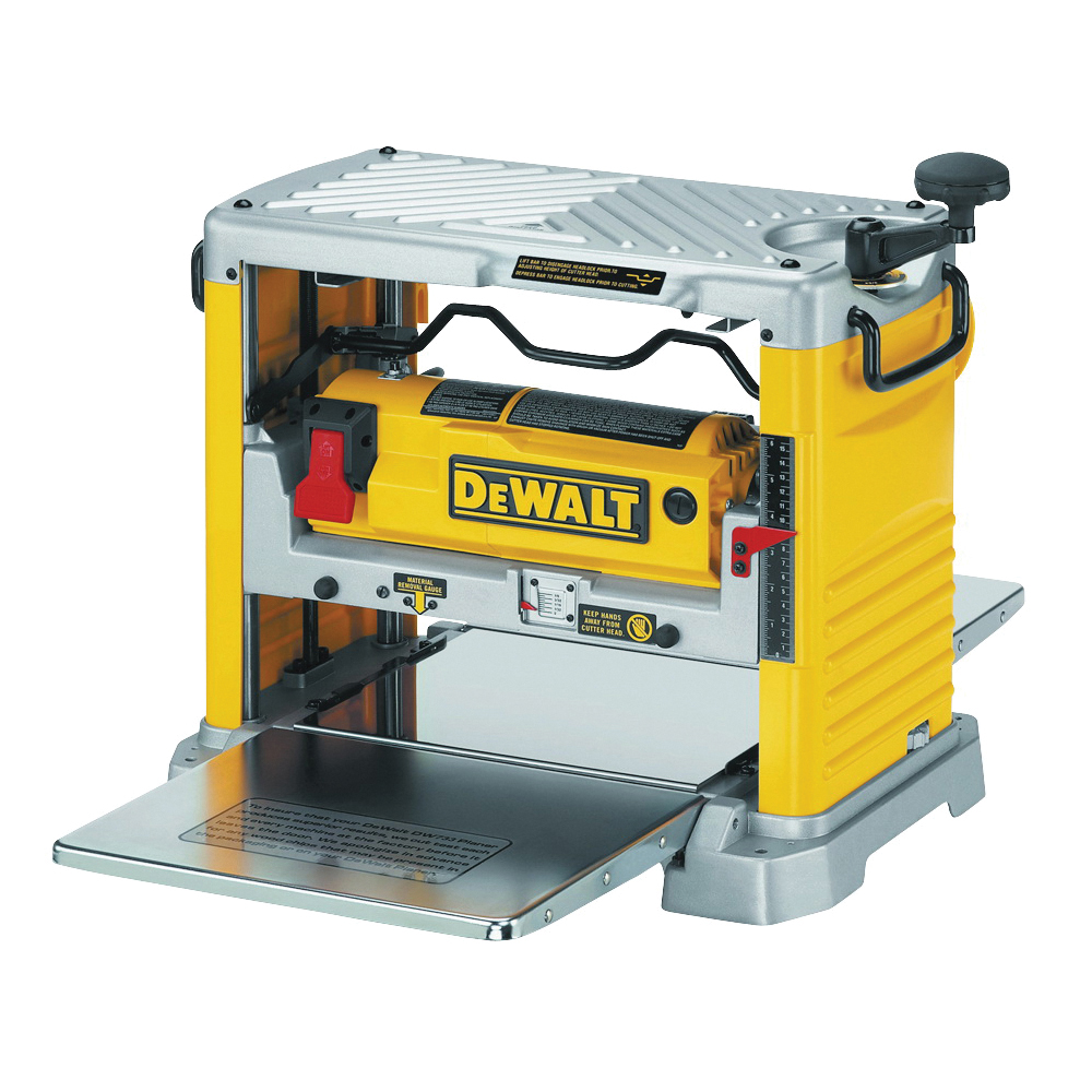 Picture of DeWALT DW734 Thickness Planer with Three Knife Cutter-Head, 120 V, 15 A, 1 hp, 12-1/2 in W Planning