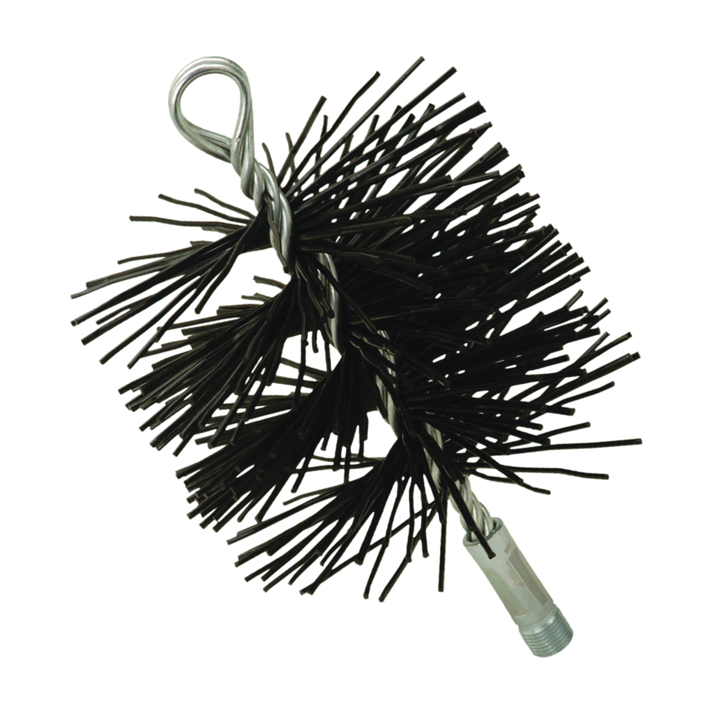 Picture of Imperial BR0075 Round Chimney Brush, 5 in Dia Brush, Polypropylene Fiber Trim