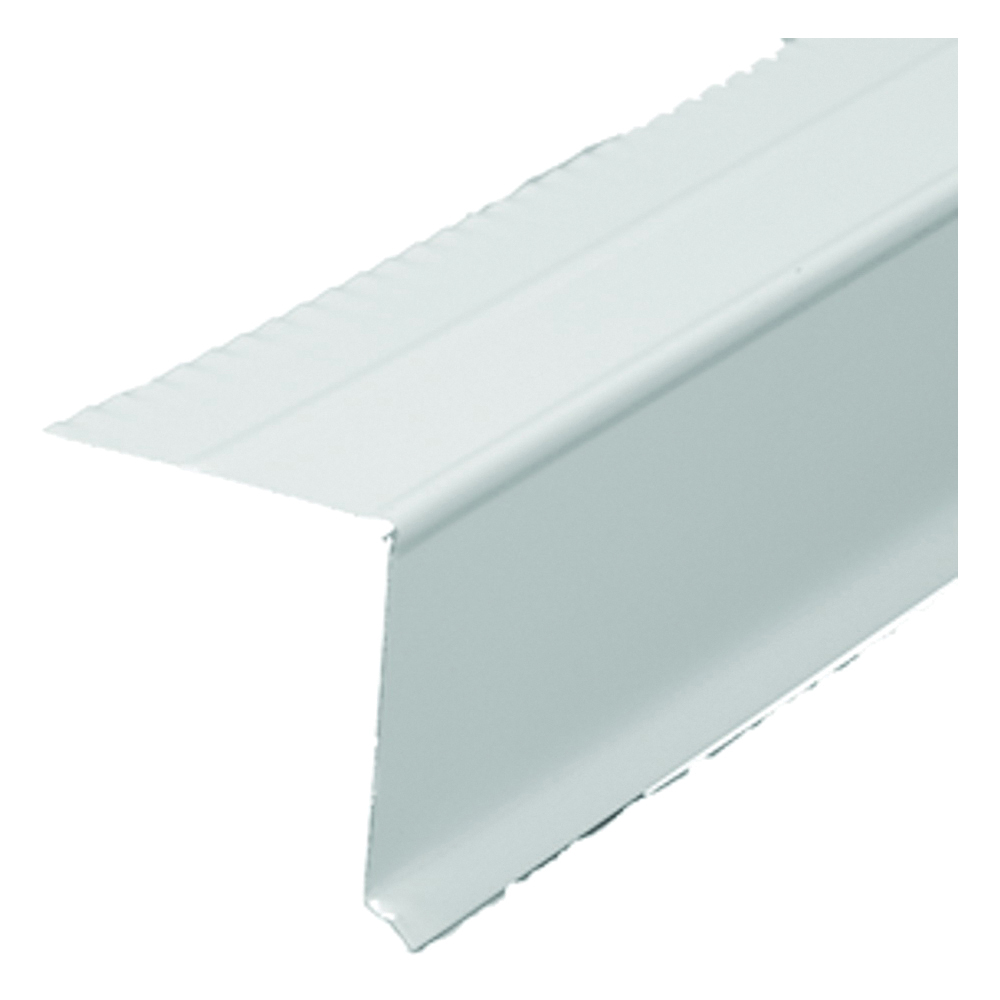 Picture of Amerimax 5761600120 West Coast Drip Edge, 10 ft L, Steel, White