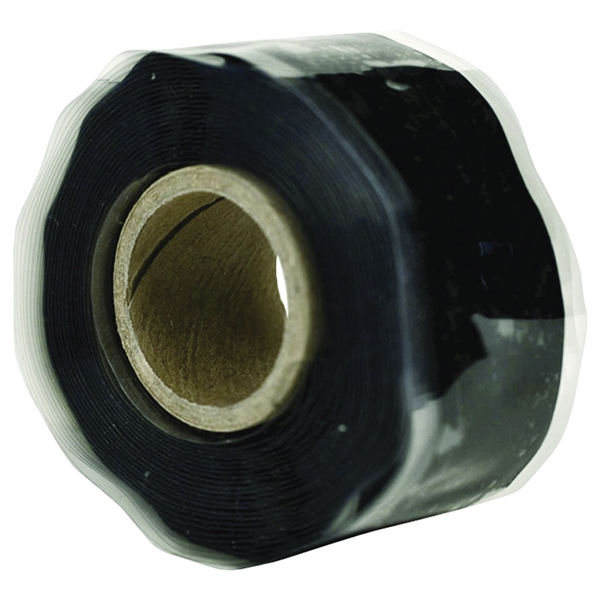 Picture of HARBOR PRODUCTS RT1000201201USC01 Pipe Repair Tape, 12 ft L, 1 in W, Black
