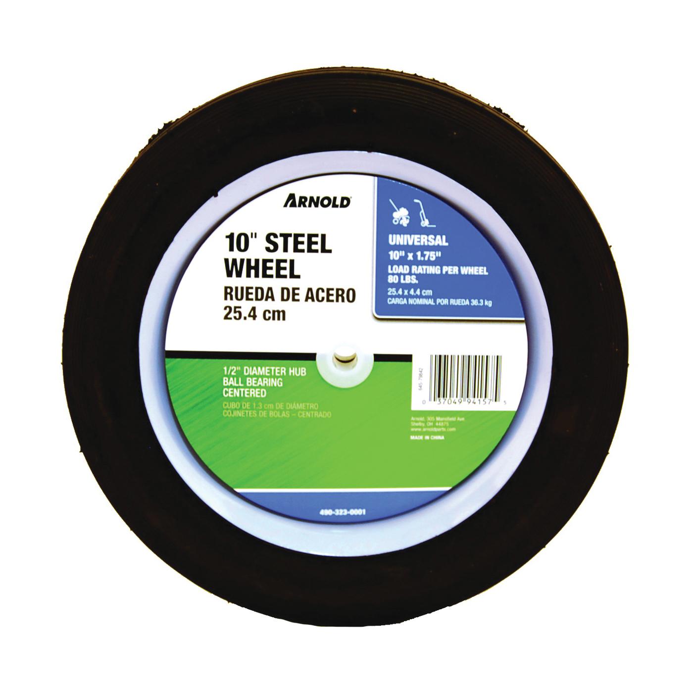 Picture of ARNOLD 490-323-0001 Tread Wheel, Semi-Pneumatic, Steel