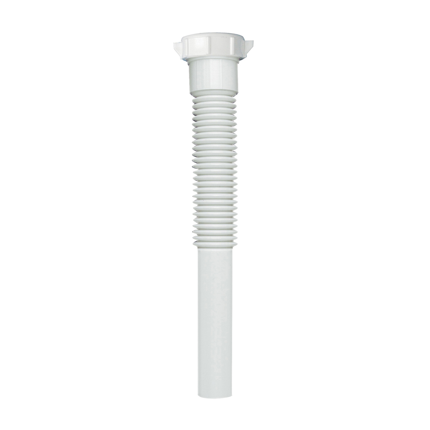 Picture of Plumb Pak PP812-5 Extension Tube, 1-1/4 in, 9 in L, Slip Joint, Polypropylene, White
