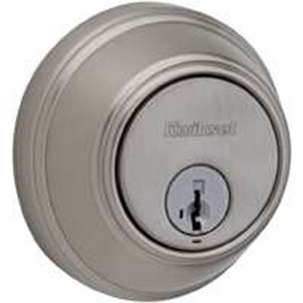 Picture of Kwikset 816 15RCAL/RCS Key Control Deadbolt, Alike Key, Steel, Satin Nickel, 2-3/8 to 2-3/4 in Backset