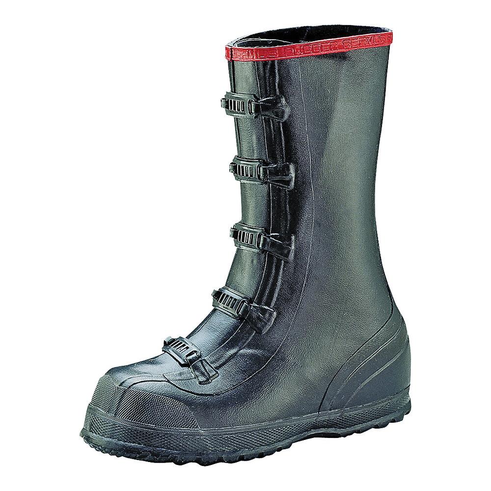 Picture of Servus T369-10 Over Shoe Boots, 10, Black, Buckle Closure, No