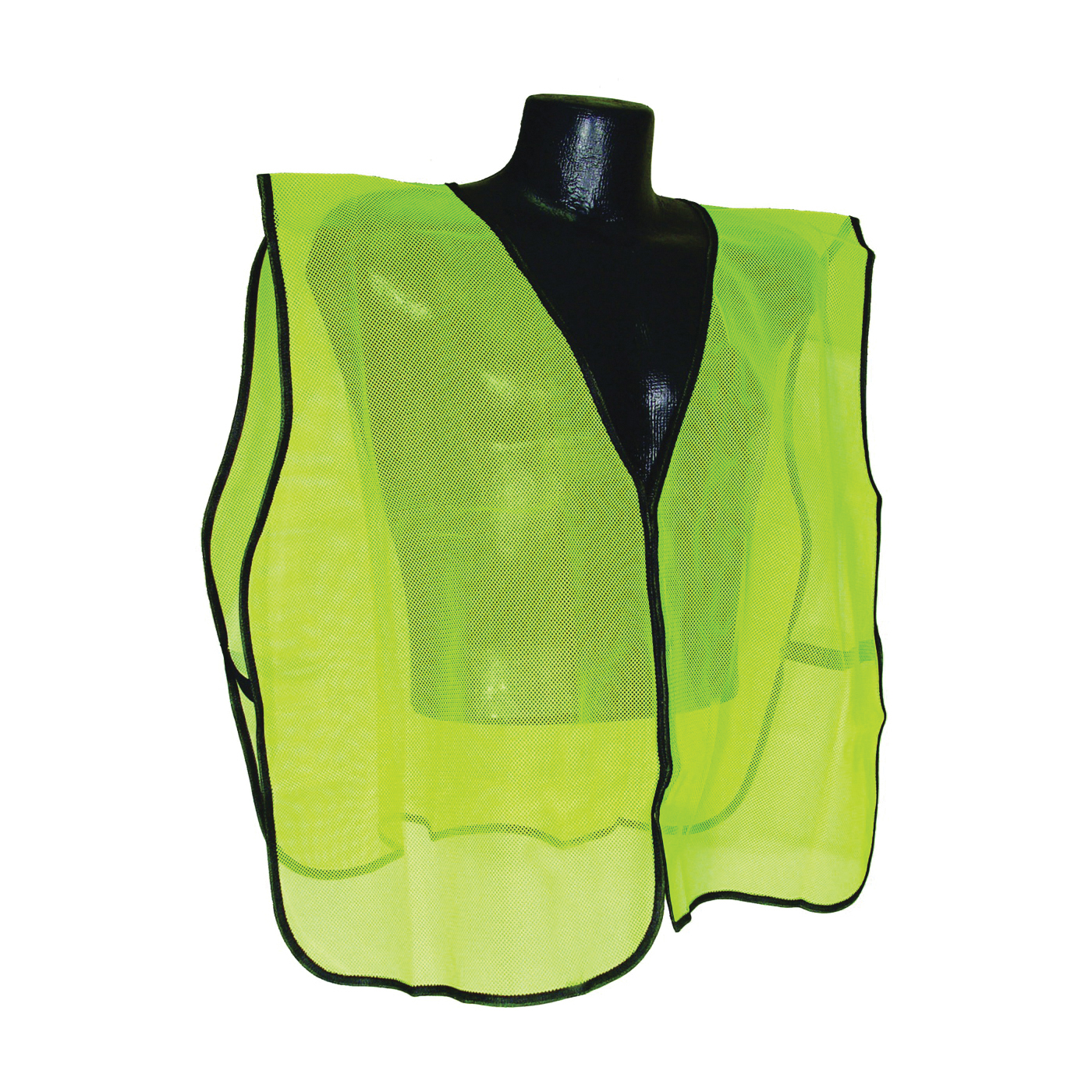 Picture of RADWEAR SVG Safety Vest, One-Size, Polyester, Green/Silver, Hook-and-Loop Closure