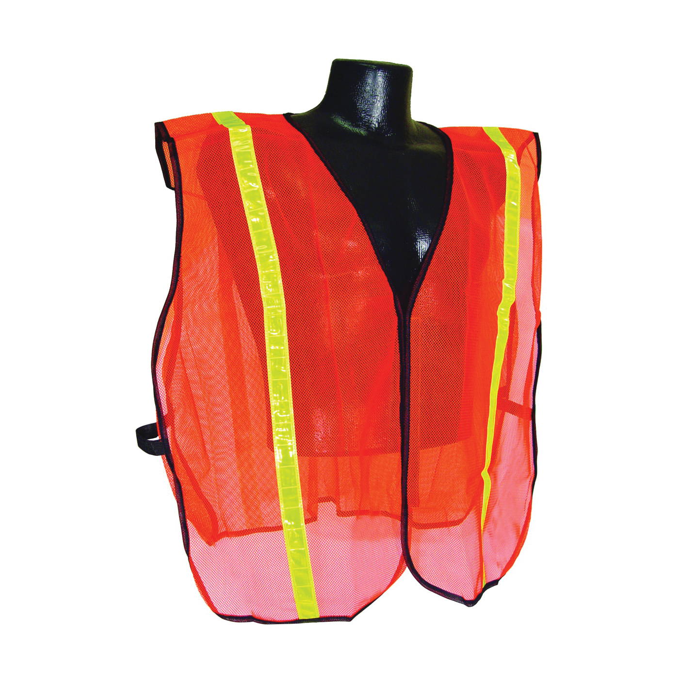 Picture of RADWEAR SVO1-S/XL Safety Vest, S/XL, Polyester, Green/Orange/Silver, Hook-and-Loop Closure